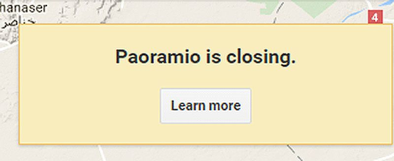 Farewell Panoramio: Google to End the GPS-Centric Photo Site