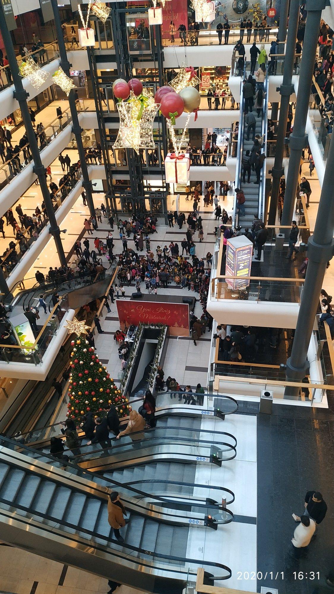 Gəncə Mall Landmarks Mall Times Square