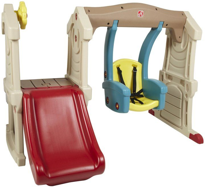 Step Two Swing Set Step 2 Toddler Swing Slide Step2 From Diapers