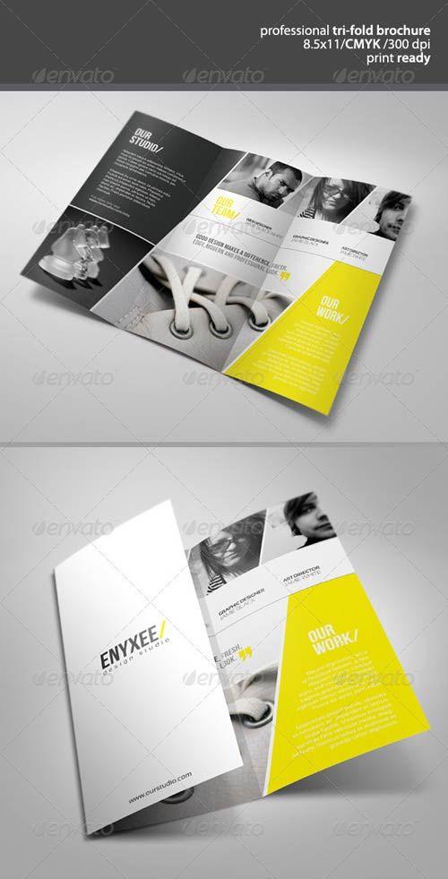 professional unique tri fold brochure graphicriver free psd for free