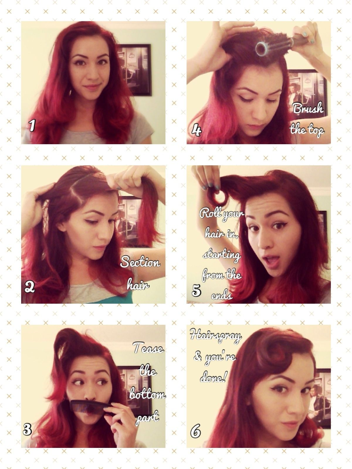 Coiffure Mariage Rockabilly Rockabilly Vintage Hair Tutorial So Pin Up Diy Hair