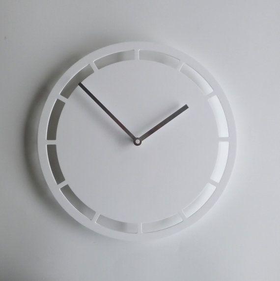 Objectify Dash Outline Wall Clock  Medium by ObjectifyHomeware, $35.00