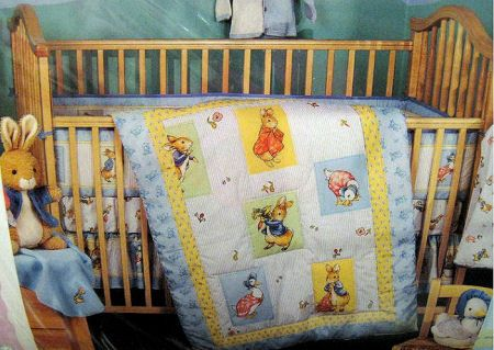 Classic bunny beatrix potter peter rabbit baby nursery for Beatrix potter bedroom ideas