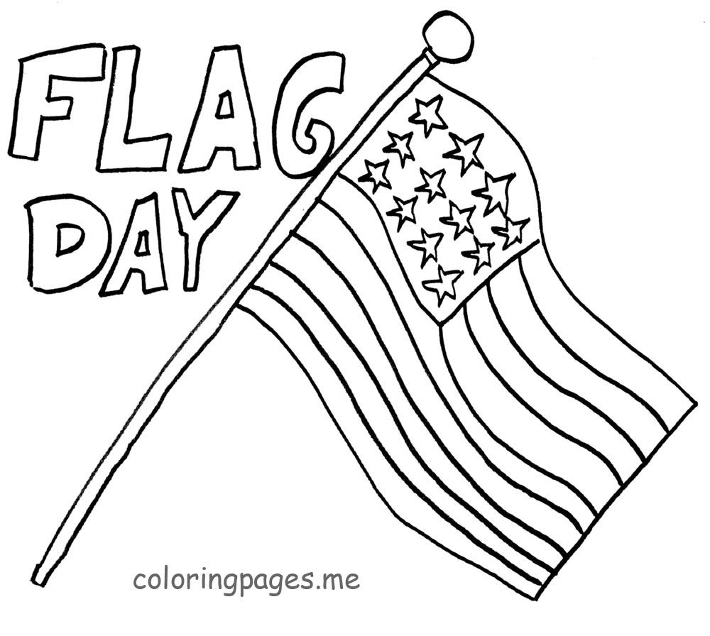 flag day coloring pages | Only Coloring Pages | Coloring ...