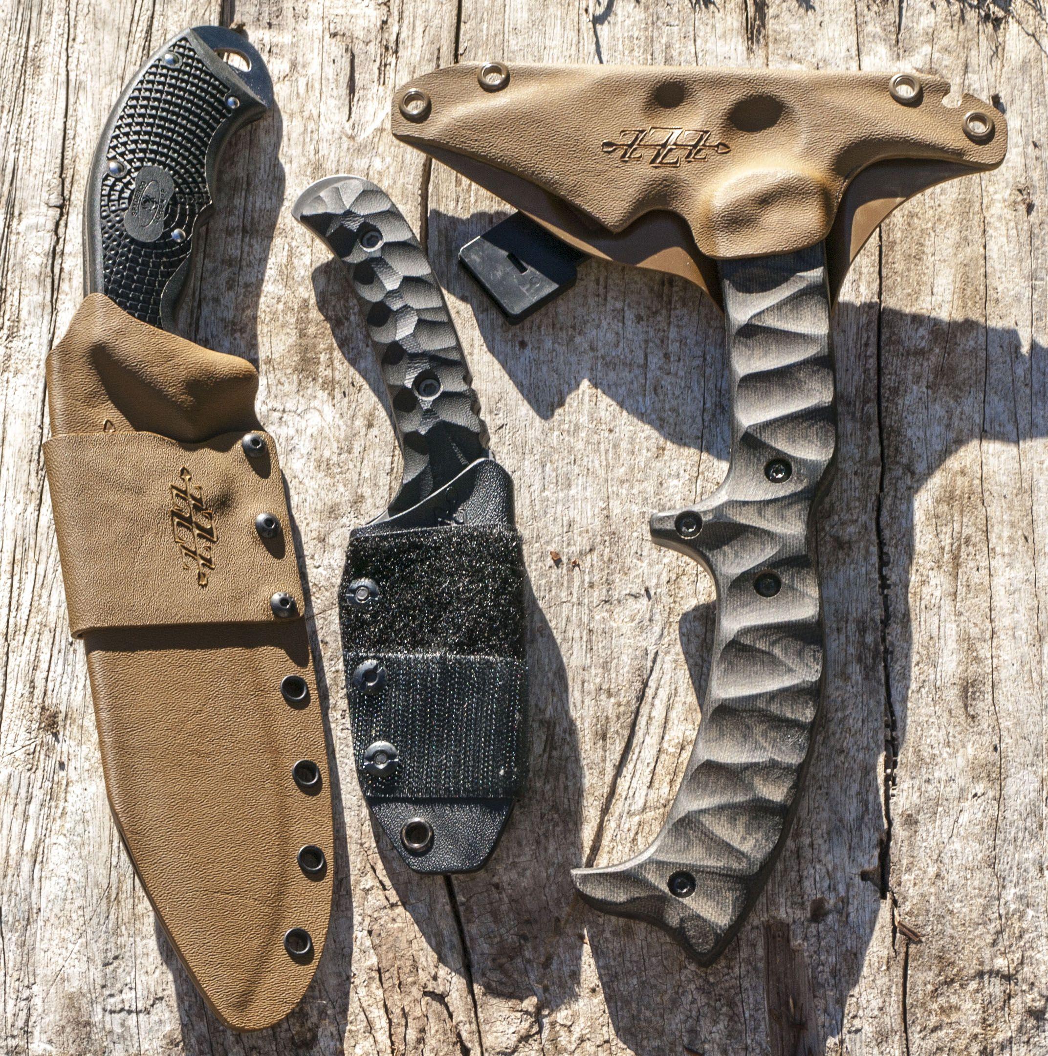 Kydex Knife Sheath: Custom Made Kydex Sheaths. @zzzcustomholsters #kydex