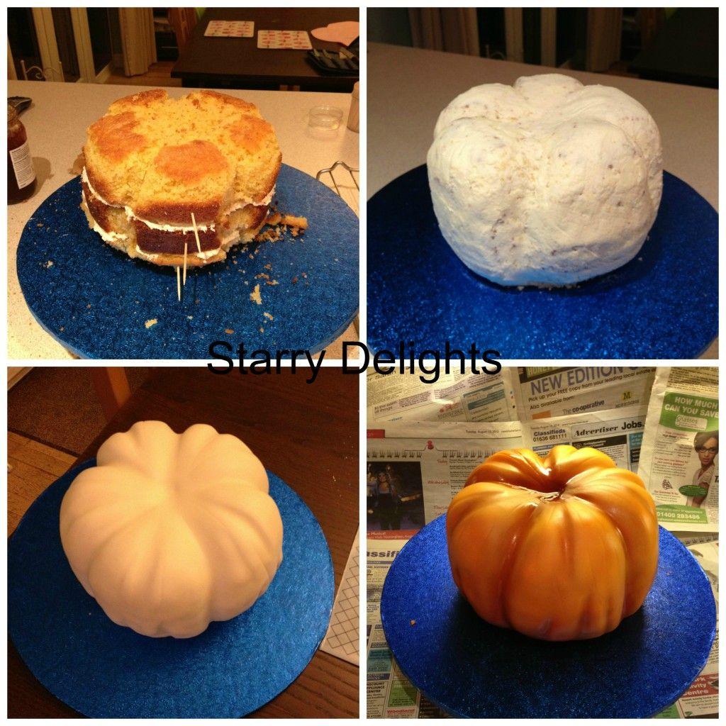pumpkin cake step by step pinterest tolle torten. Black Bedroom Furniture Sets. Home Design Ideas