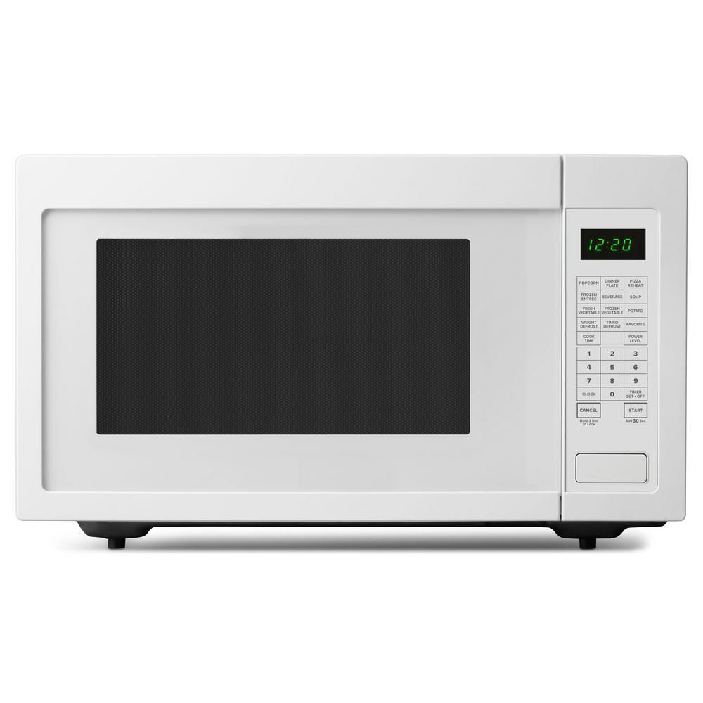 Amana 2 2 Cu Ft Countertop Microwave In White With Add 30