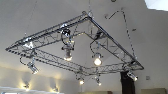 Bespoke Kitchen Island Lighting Stage Rig By