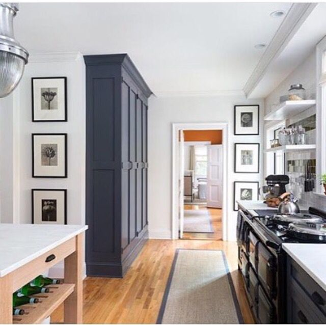 Floor To Ceiling Built In Cabinetry In Kitchen
