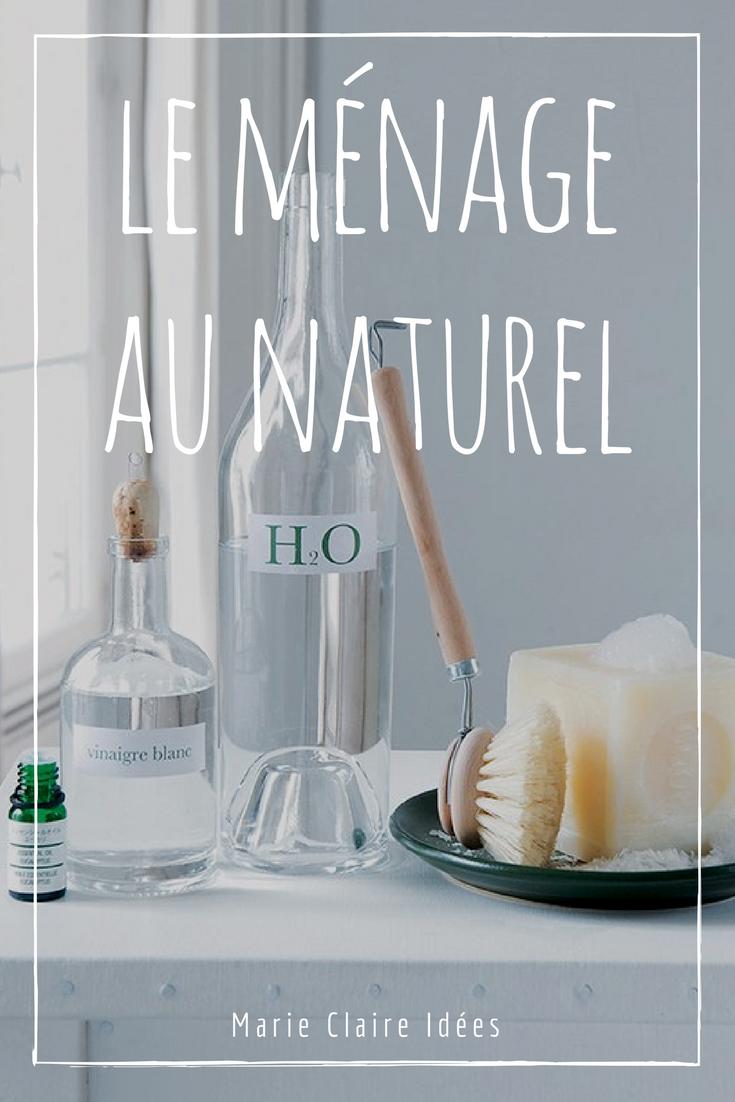 10 recettes pour faire son ménage sans produits chimiques - Marie Claire Idées | Produit ménager ...
