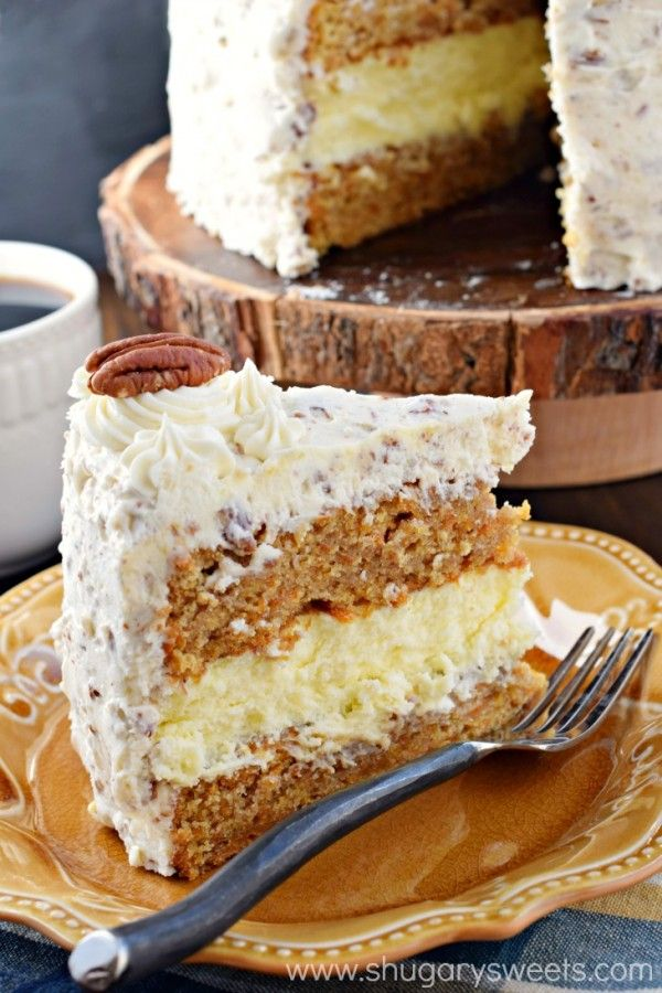 Check Out Carrot Cake Cheesecake Cake It S So Easy To
