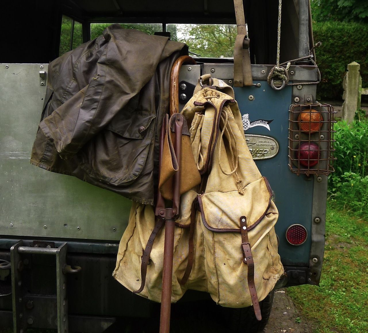 BARBOUR LAND ROVER By J.