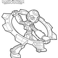Gearshift Coloring Page