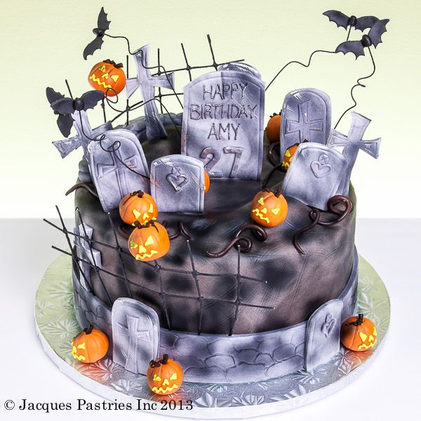 Scary Birthday Cake By Jacques Fine European Pastries