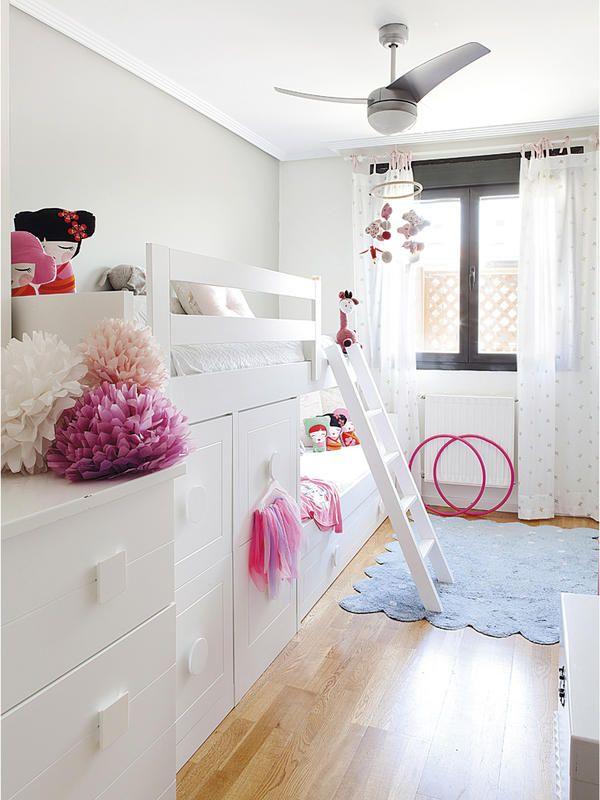 Una casa moderna y familiar decoraci n habitaciones - Habitaciones infantiles tren ...