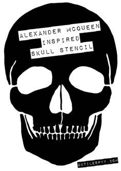 Bilderesultat for cut out skull template | Template google ... - Pochoir Tete De Mort