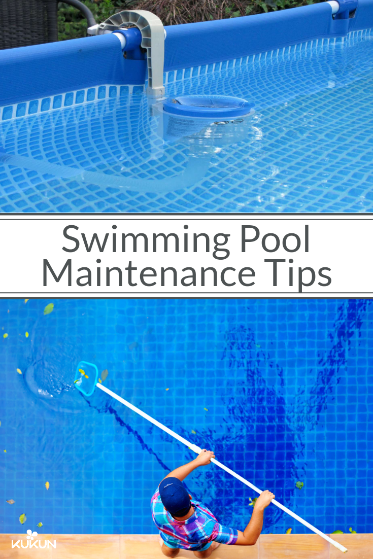 7 Swimming Pool Maintenance Tips For Your Home Swimming Pool Maintenance Pool Maintenance Checklist Pool Cleaning