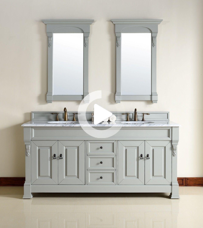 Doppelwaschbecken Mit Unterschrank Grau