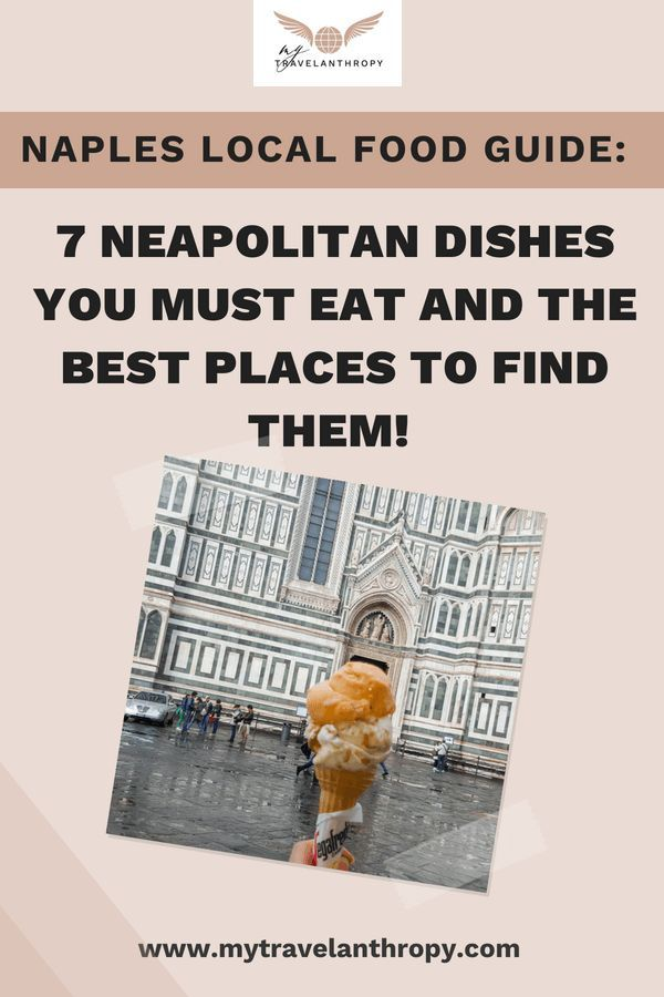 Naples, Italy Local Food Guide: 7 Neapolitan Dishes you must eat and the best places to find them! Travel like locals in Naples, Italy to eat at the best places! #italy #naples #food #travelabroad #italytravel