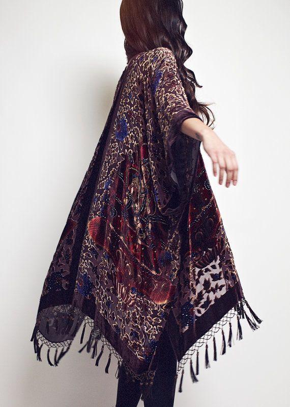 6620ade53 Velvet Buddha Kimono | boho | Sukienki, Moda damska i Ubrania