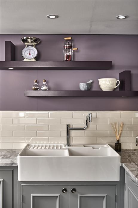 Best 20 Delicious Kitchen Revamps Farrow Ball Purple 400 x 300