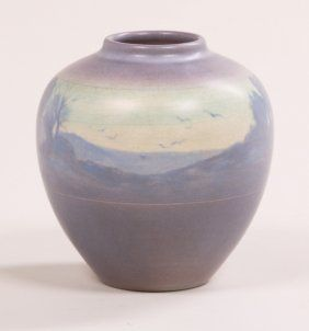 Rookwood 1910 Vase By Fred Rothenbusch