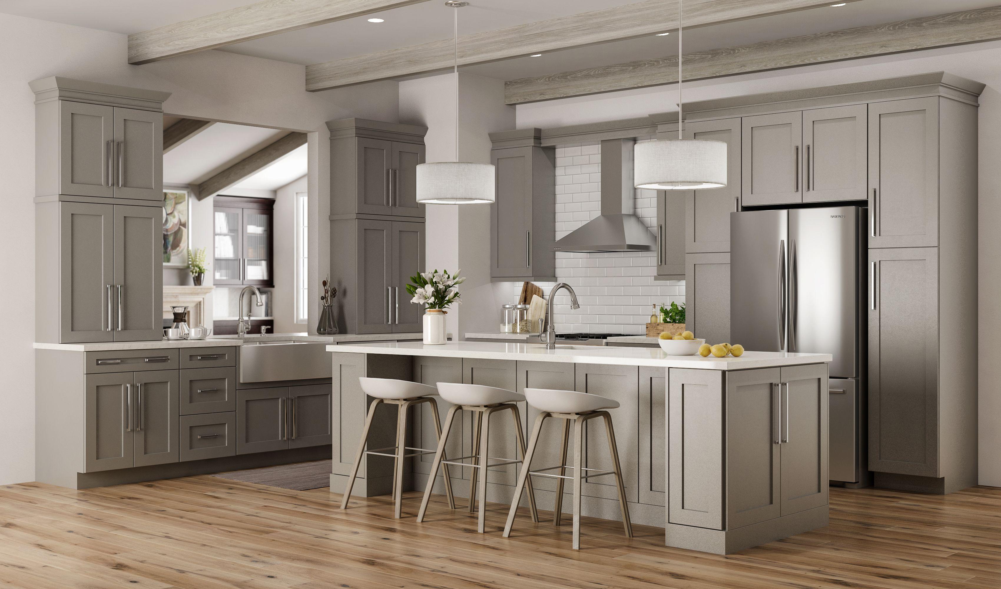 Craftsman Maple Dove Gray | Kitchen cabinetry, Kitchen ...