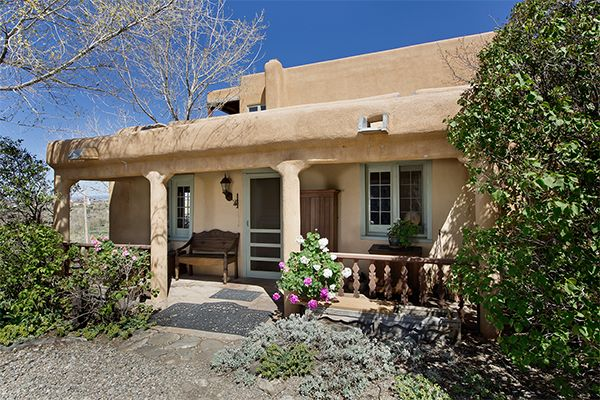 Dream Home We Love This Restored 1795 Adobe Adobe House New Mexico Homes Old Houses