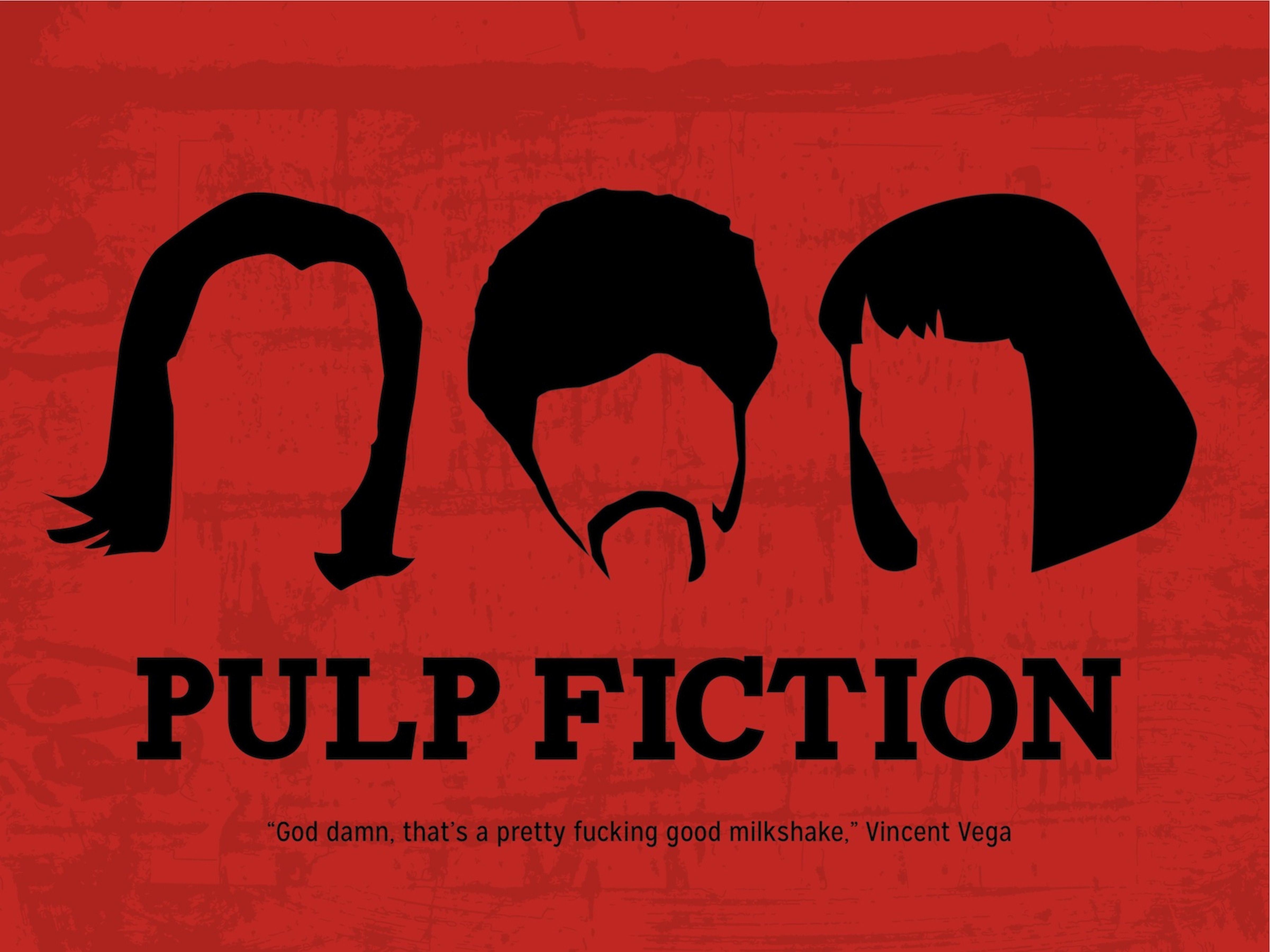 pulp fiction minimalist poster - Pesquisa Google | P R O J ...