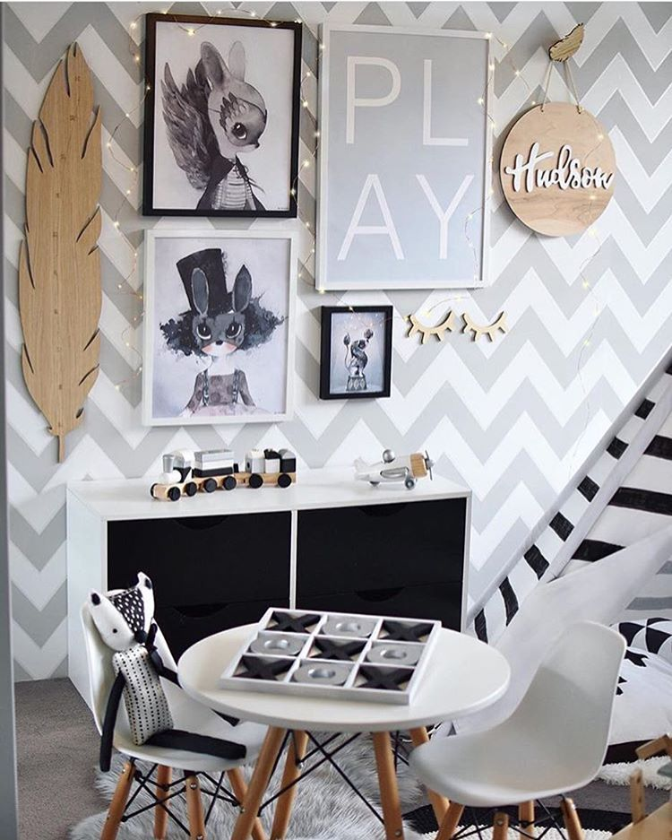 """Simple Style Co on Instagram: """"Oh my...the beautiful @hudson_and_harlow has created the most amazing play room for her little ones! Get FREE SHIPPING on all Mrs Mighetto prints from now until Sunday evening when you enter the code CIRCUS at the checkout. Link in profile"""""""