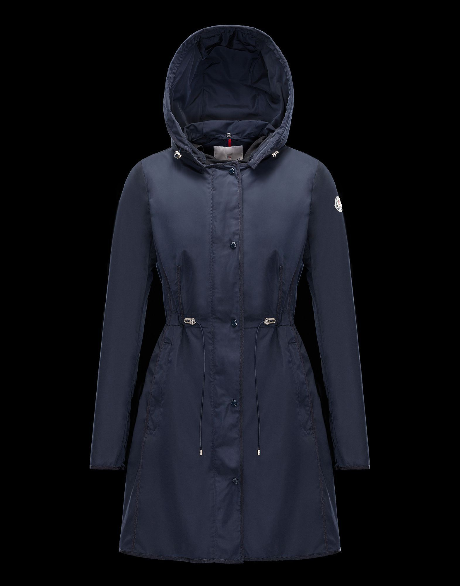 MONCLER More Coats MONCLER 17 spring summer ANHEMIS raincoat Navy Blue