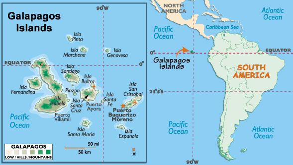 Galapagos-Islands-Map.jpg | Dream of Equator | Pinterest | Nyc ...