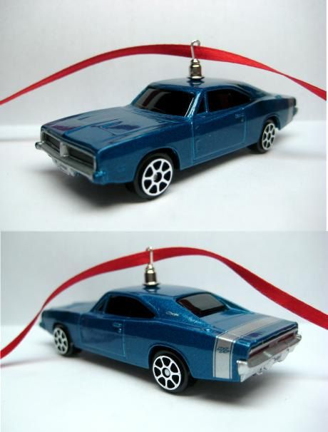 1969 Dodge Charger Rt Mopar Muscle Car Christmas Ornament