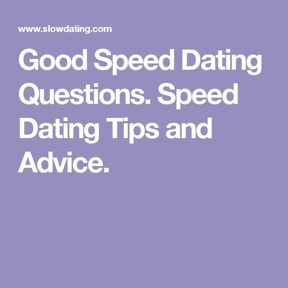top 10 speed dating questions
