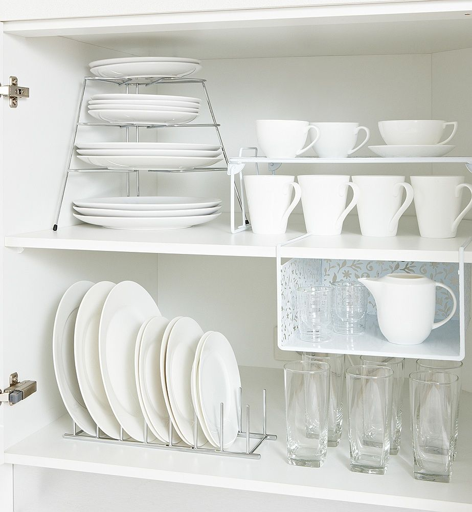 Create Space For A Smaller Cupboard Where Space Is At A Premium Maximise Your Visible Area Kitchen Cupboard Organization Diy Kitchen Storage Kitchen Storage