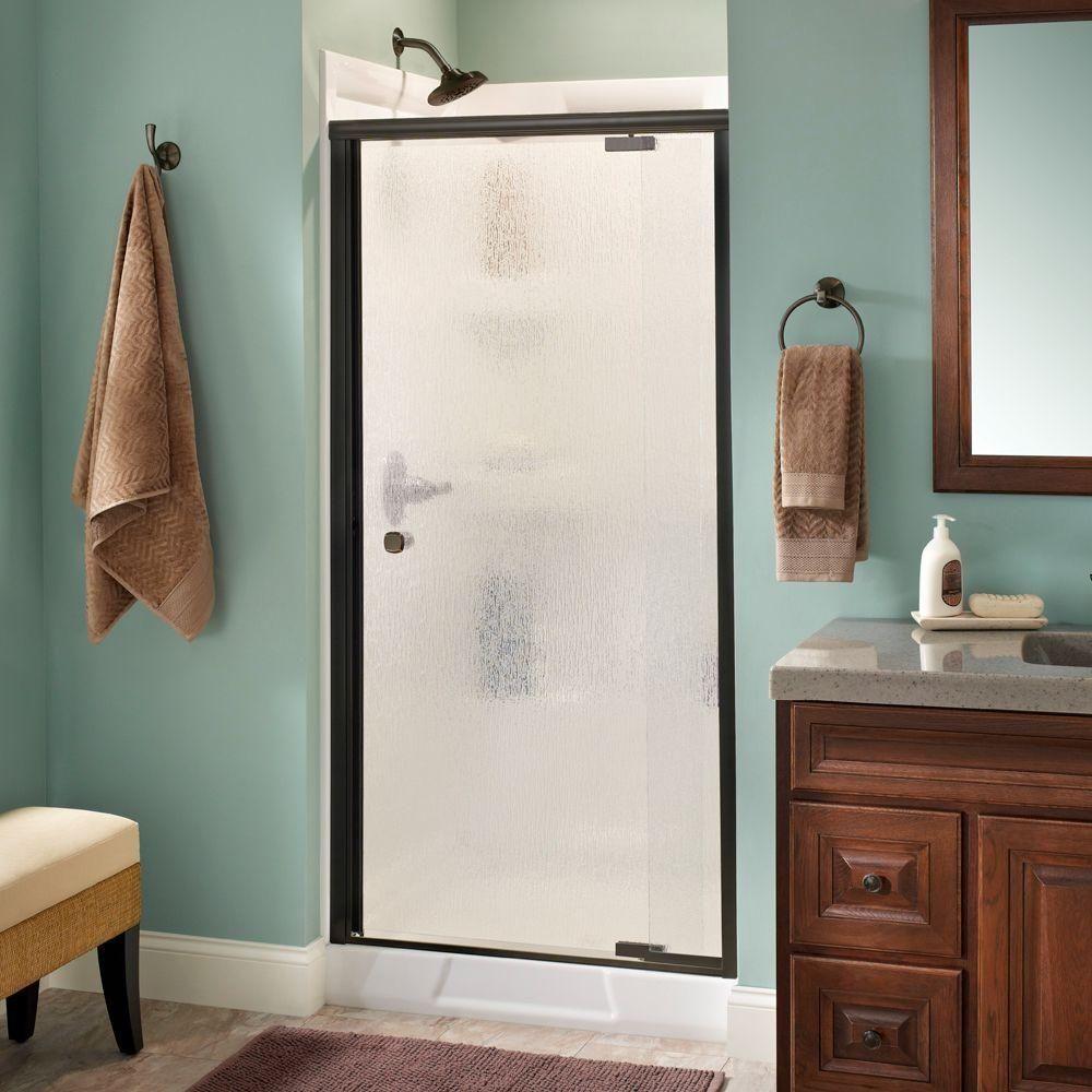 Oil Rubbed Bronze Shower Door 36 | http://sourceabl.com | Pinterest ...