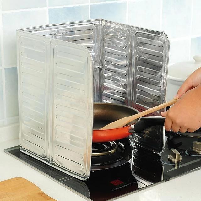 1PCs Gas Stove Heat Insulation Aluminium Foil | Kitchen ...