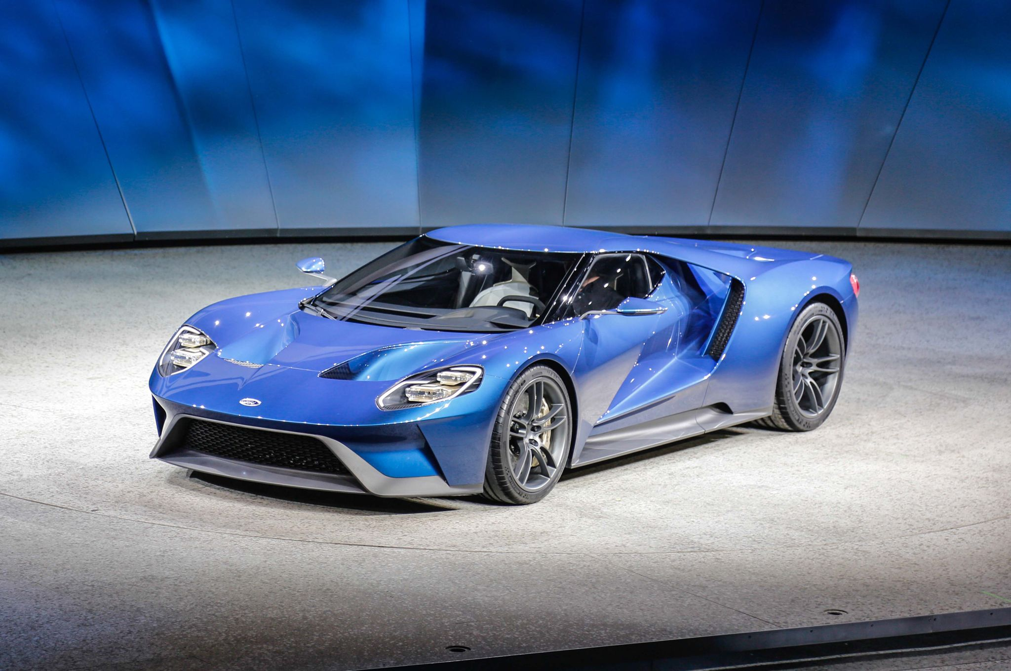 Ford Gt At  Detroit Auto Show Provided By Motortrend
