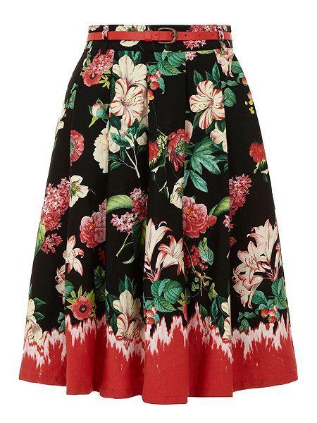 Floral print skirt http://www.houseoffraser.co.uk/Yumi+Floral+print+skirt/196659458,default,pd.html