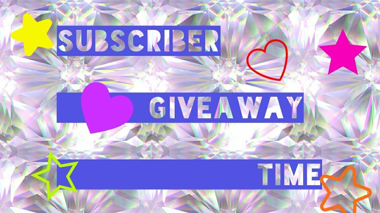 10 subscriber giveaways