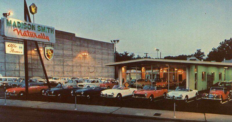 Vintage Alfa RomeoPorsche Dealership & Lot