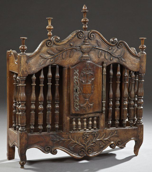 Italian French Provincial Images On: French Provincial Carved Elm Pannetiere, Early 19th C., On