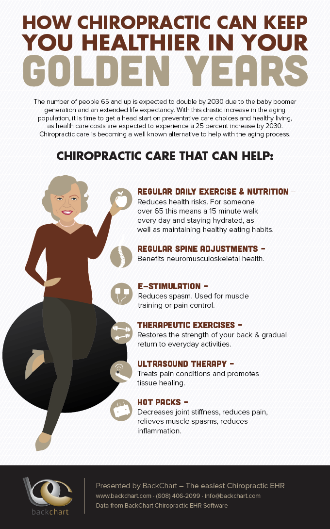 Make The Most Of Your Golden Years With Chiropractic Care