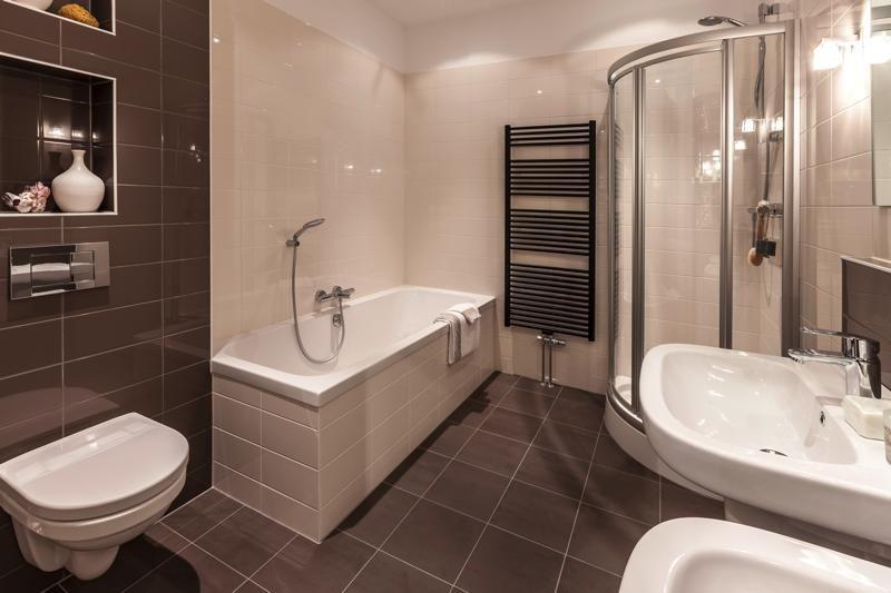 Personal Living badkamer met Mosa tegel, Sphinx 300 sanitair en ...