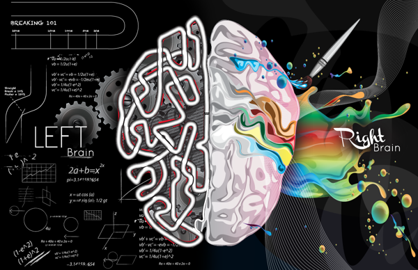 Left Right Brain on Behance | things i wish i had | Pinterest ...