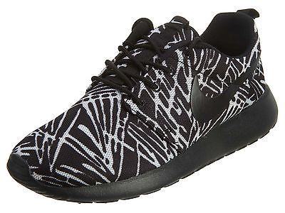 new product c5a5c 17666 Nike Roshe One Print Womens 599432-009 Black White Rosherun Running Shoes  Sz 6