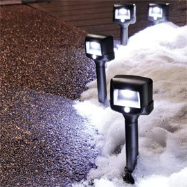 2 Way Pathway Lights Battery Ed Motion Sensing Path Solutions