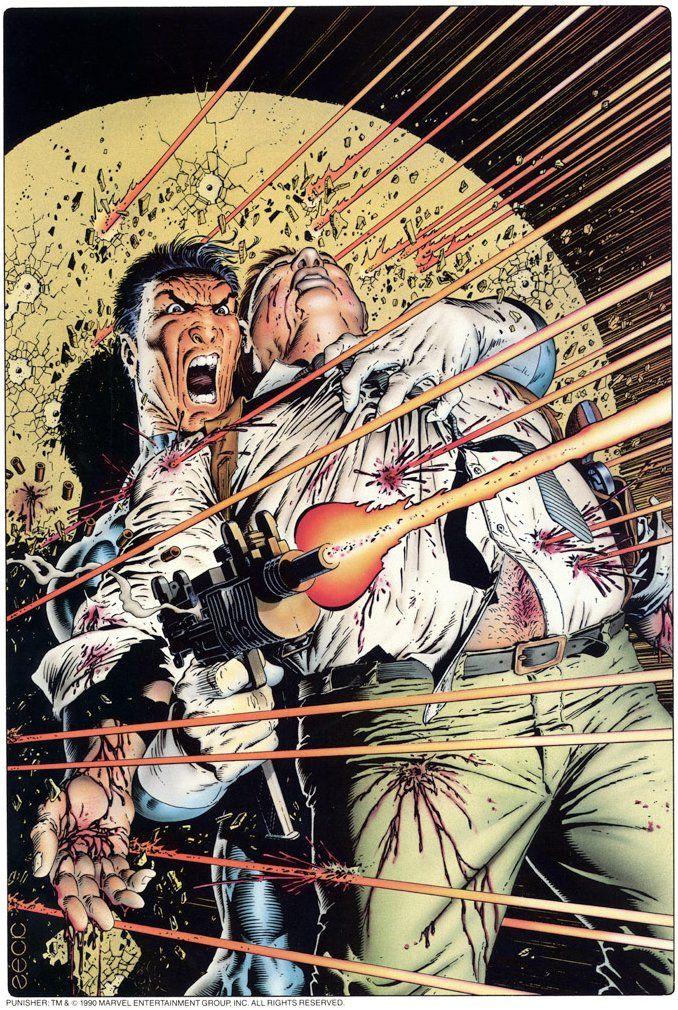 Punisher - Good a Shield as Any by Mike Zeck