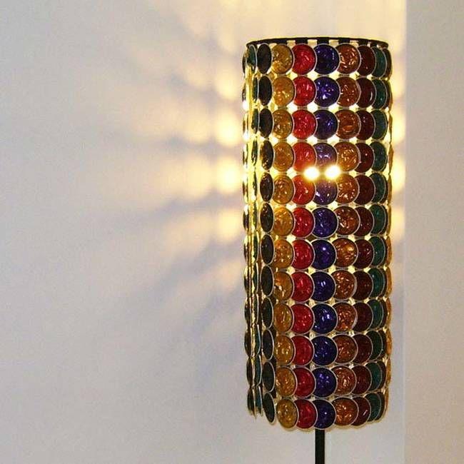 Bekannt Lampenschirm aus Nespressokapseln und andere Ideen mit Kapseln auf  KZ71