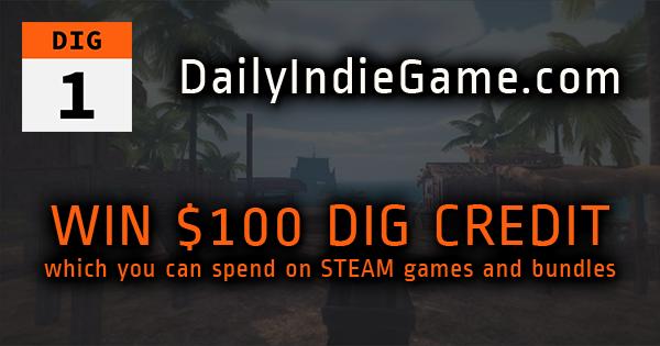 Help me win $100 DailyIndieGame com credit | giveaway | Free games